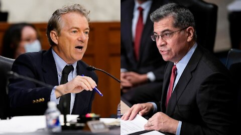 Rand Paul Exposes Authoritarianism of HHS Secretary Becerra - You Sir, Are The One Ignoring Science
