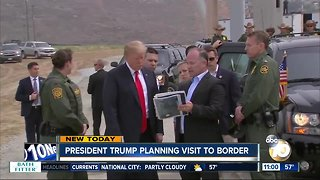 President Trump planning to visit border
