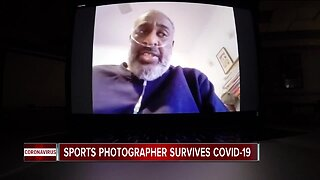 Sports photographer survives COVID-19