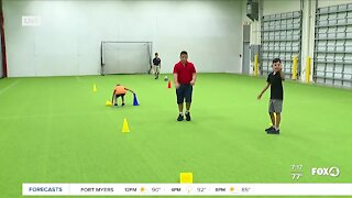 Indoor soccer facility offering after school programs