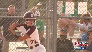 Bahl hits 2 HR as #1 Papio softball shuts out Skutt