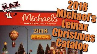 2018 Michael's Lemax Christmas Catalog