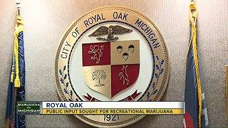 Public input sought in Royal Oak for recreational marijuana