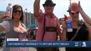 Pandemic won't stop Oktoberfest Zinzinnati 2020
