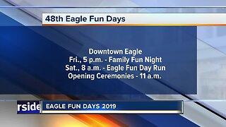 Eagle Fun Days kicks off today