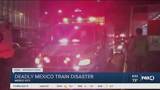 Subway collapse in Mexico City