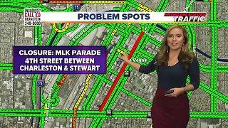 2019 MLK Parade road closures