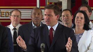 Ron DeSantis speaks on new executive order