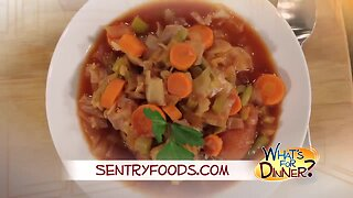 What's for Dinner? - Cabbage Soup