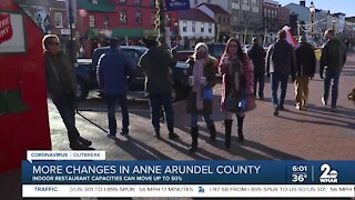 More restriction changes in Anne Arundel County
