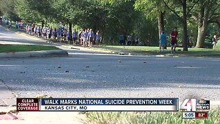 Walk marks National Suicide Prevention Week