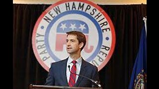 """Tom Cotton SLAMS AP: """"Why is the Associated Press Sharing a Building With Hamas?"""" Hamas rockets news"""