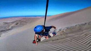 Faites de la planche de dune au Chili!