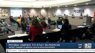 Peoria Unified to improve C19 mitigation efforts