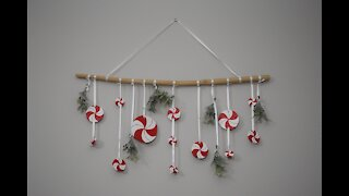 A Peppermint Christmas - Hanging Branch