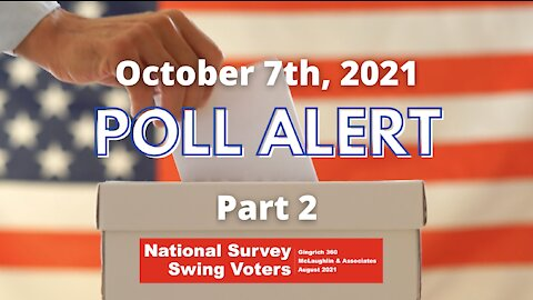 POLL ALERT: National Swing Voter Polling Results