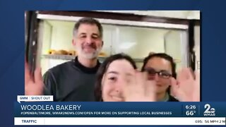 """Woodlea Bakery says """"We're Open Baltimore!"""""""