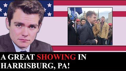 Nick Fuentes | Pennsylvania Rally Recap