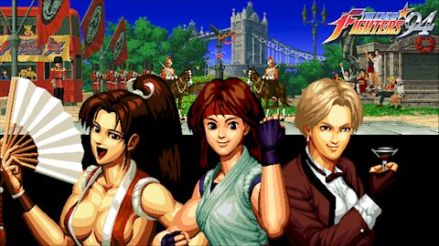 Gaming with CTP: King of Fighters '94 Part 7 of 8: England/Women's Team Playthrough!