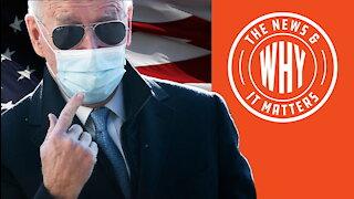 'PATRIOTIC DUTY': Biden Wants MORE Masks Despite Vaccine   Ep 747