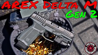 Arex Delta Gen 2 Compact High Expectations New Pistol Owners Watch