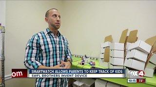 Smartwatch helps parents track kids