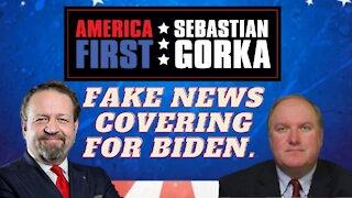 Fake News covering for Biden. John Solomon with Sebastian Gorka on AMERICA First