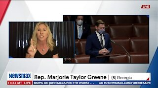 Rep. Greene: Cheney Joining Dems on Impeachment 'Disgraceful'