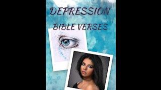 7 Bible verses for DEPRESSION // Scriptures for Depression// Depression Motivation 6 #shorts