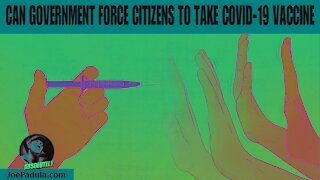 Can Government legally Force you to Vaccinate?