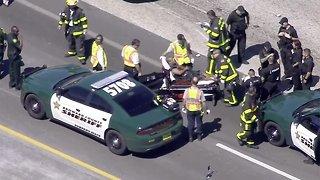 VIDEO: Car chase through Miami-Dade, Broward ends in Palm Beach County
