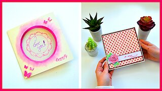Handmade paper crafts: 3 DIY love-themed greeting cards