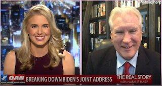 The Real Story - OANN Biden's Joint Address Recap with Doug Wead