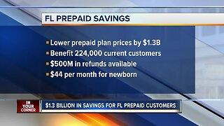 Governor DeSantis announces $1.3 billion in savings for Florida Prepaid customers