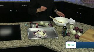 Shape Your Future Healthy Kitchen: Roasted Spring Onions