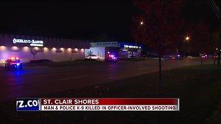 Man & police K-9 killed in officer-involved shooting