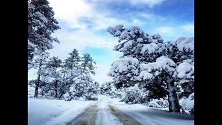 DESERT SNOWFALL! Surreal snowy spots in Arizona - ABC15 Digital