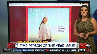 Greta Thunberg names Time magazine's Person of the Year