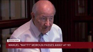 Detroit businessman and Ambassador Bridge owner Matty Moroun dies at 93