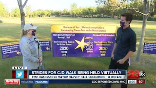 Strides for CJD walk being held virtually