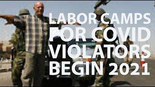 Covid Violators Forced Labor