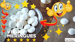Amazing recipes: How to make vegan meringues