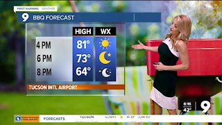Warm temps continue for a few more days
