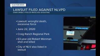 Lawsuit filed against NLVPD