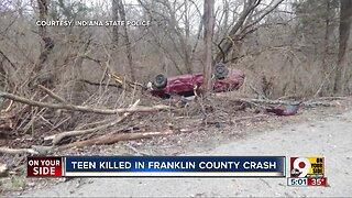 Teen killed, four injured in crash
