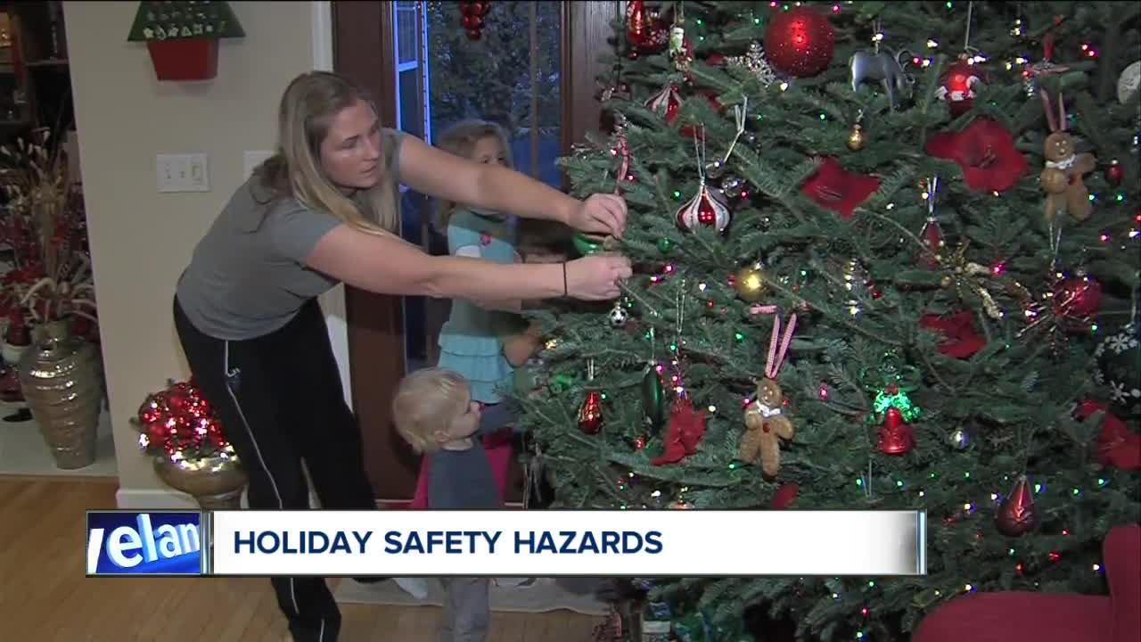 Top hazards to avoid while putting up holiday decorations