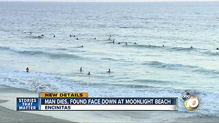 Man dies at Encinitas beach