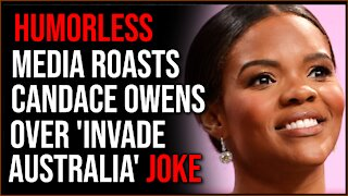 Candace Owens JOKE About Invading Australia Taken Out Of Context By Media That Doesn't Get Humor