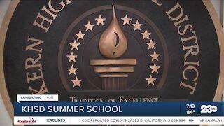 KHSD Summer School enrollment