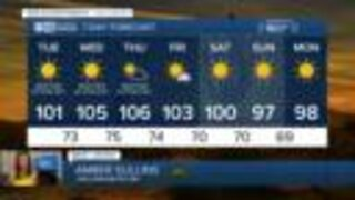 FORECAST: Excessive Heat Warning through Thursday, Record heat possible